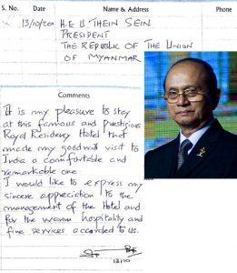 Thein Sein Former President of Myanmar